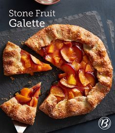 Not into perfectionistic baking? Enter this rustic Stone Fruit Galette ...