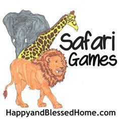 FREE Safari Games for your Preschooler