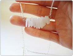 How To-sday - Washed Ashore Necklace - Shrimp Salad Circus