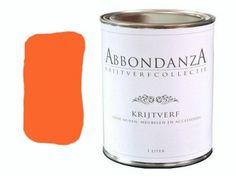 765 Tangerine AbbondanzA krijtverf