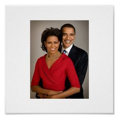 Michelle Obama Fashion, Michelle And Barack Obama, Michelle Obama Photos, Obama Poster, Studio Family Portraits, Nigerian Dress, Barack Obama Family, Design Your Own Poster, Fit Couples