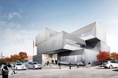 The city files plans for a new police station designed by Bjarke Ingels at 567 East 149th Street in Mott Haven, in the South Bronx.