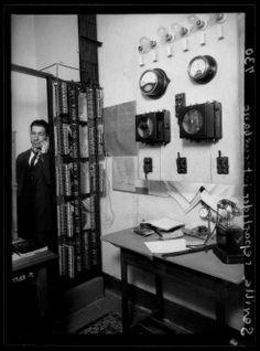 1928 Repartidor interurbano del servicio telefónico de Sevilla, por Luis Ramón Marín