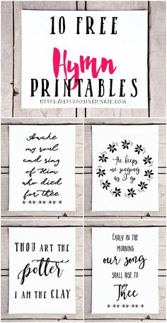 10 Free Hymn Printables Free Printables Hymn Printables Easy Wall Decor Prints Wall Art Inspirational Free printables for the home Funky Home Decor, Easy Home Decor, Printable Quotes, Printable Wall Art, Printable Lables, Sewing Quotes, Do It Yourself Home, Diy Wall Decor, Homemade Wall Decorations