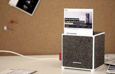 OKSU Mini Drucker schafft intelligente Visitenkarten und Notizzettel mit NFC Technologie