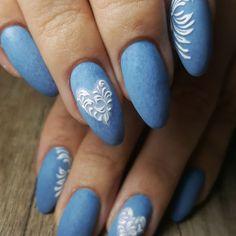 Casual nails...jeans technique #jeansnails #bluenails #casualoutfit #jeansnailart #nailtechniques #2018nails #nailart #nailsoftheday… Casual Nails, Snail Art, Nail Techniques, Blue Nails, Casual Outfits, Instagram, Jeans, Beauty, Casual Clothes