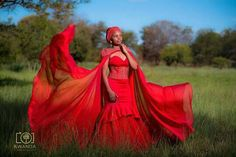 Kwanda Photography rocks African Print Dresses, African Print Fashion, African Dress, Traditional Wedding, Traditional Outfits, Seshweshwe Dresses, Wedding Attire, Wedding Gowns, African Traditions