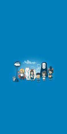 Nu Wallpaper, Cute Laptop Wallpaper, Wallpaper Backgrounds, Hd Anime Wallpapers, Cute Cartoon Wallpapers, Personajes Studio Ghibli, Studio Ghibli Art, Japanese Film, Howls Moving Castle