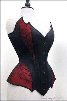 Possible corset for Harley costume? Mode Steampunk, Steampunk Fashion, Gothic Fashion, Looks Cool, Looks Style, Style Me, Corsets, Moda Medieval, Mode Sombre