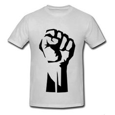 Black History Month T-Shirts To Help You Wear Your Pride   Essence.comDuring the 1968 Olympics sprinters Tommie Smith and John Carlos each placed a black-glove one hand and raised their fist. The symbol become a salute to Black power and will forever be a political demonstration of strength and pride. This Etsy Shop offers it for $25.99.