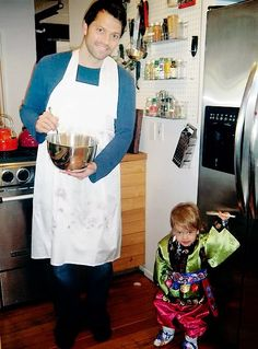 Collins on Pinterest | West Collins, Misha Collins and Cooking