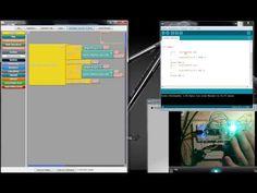 Ardublock tutorial 1 deutsch arduino grafisch programieren - YouTube