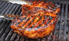 Ignite your style buds with a marinade in your chops .- Ignite your style buds with a marinade in your pork chops that can go away nobody detached! Camping Bbq, Lard, Taste Buds, Us Foods, Pork Chops, Pork Recipes, Tandoori Chicken, Barbecue, Cooking