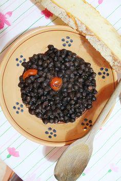Zuppa di CECI NERI (Acquaviva delle Fonti)