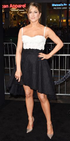 Look of the Day - November 21, 2014 - Jennifer Aniston in Zuhair Murad from #InStyle