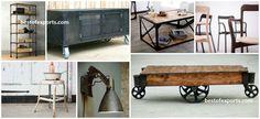 Industrial Furniture Reclaimed Wood Furniture Recycled Wood Furniture Upholstered Furniture Antique Reproduction Furniture