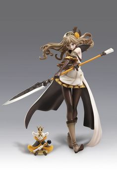 "Deagostini Japan Presents you the 1/8 scale SAMATHA PVC STATUE from the World of Video Game ""TERA BATTLE"" which was created by Mr. Hironobu Sakaguchi who is also known as the creator of the Final Fant"