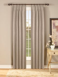 Curtain & Bath Outlet - Gabrielle Thermal Insulated Pinch Pleat Curtain Pair