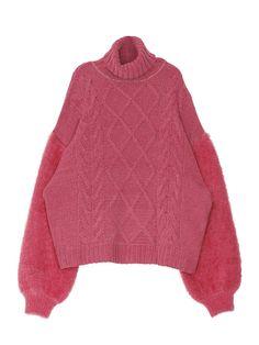 jouetie(ジュエティ)のニット、モールシャギーMIX ニットの商品詳細情報。jouetie(ジュエティ)公式ファッション通販【ランウェイチャンネル】。 公式通販ならではの充実商品。