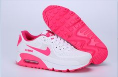 buy online 234e2 6bde3 Nike MAX 90 KPU White Pink Red 36-40