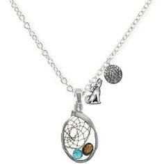 NEW MOON HALF DREAM CATCHER NECKLACE NEW FREE SHIPPING! 2 PHOTON GIFTS