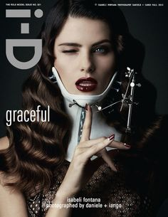 Isabeli Fontana in Versus on Role Model Issue cover 9/16! Photography: Daniele + Iango. Styling Patti Wilson.