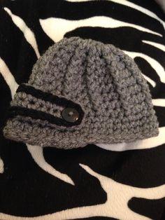 Newborn newsboy hat - crochet