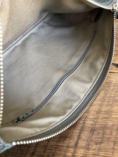 8534415d65 Leather Zipper Clutch 4 Colors