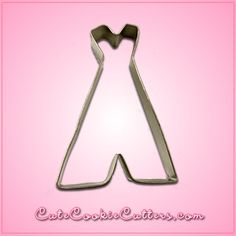 Having a powwow with some buddies? Serve up some cookies that you've sliced with the help of the Tee Pee Cookie Cutter! The cutter is crafted of tin-plated stee