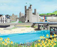 Caernarfon by Janet Bell