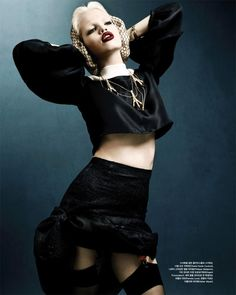 Daphne Groeneveld photographed by Rafael Stahelin for Vogue Korea April 2012 magazine