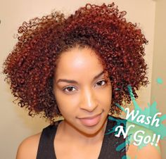 You have all asked and waited for this video, My Wash N Go! this wash and go was achieved by using Camille Rose p. Natural Hair Twists, Natural Curls, Au Natural, Going Natural, Natural Beauty, Wash And Go, Natural Hair Problems, Curly Hair Styles, Natural Hair Styles