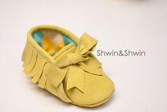 Baby Moccasins Free Pattern - Shwin and Shwin