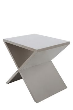 Tava Stainless Side Table