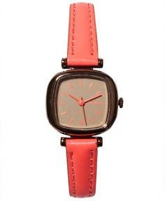 Komono - Moneypenny Watch (Dayglow Coral) - $60