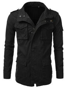 Mens Utility Anorak Jacket (AMOJA065)