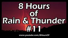 THUNDERSTORM SOUNDS, Thunder lighting wind and rain sounds for dogs relaxation meditation white noise heavy 8 hours For baby sleep, concentration, spa and ma. Sleep Relaxation, Relaxation Meditation, Meditation Scripts, Meditation Music, Rain And Thunder Sounds, Rain Sounds, Sleep Sounds, 8 Hours Of Sleep, Sound Of Rain