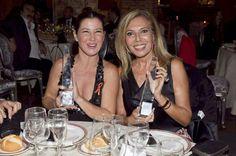 Maribel junto a la también premiada Sara Baras