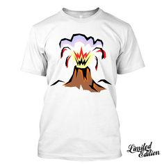 VOLCANO I Love Volcanology  Geology Hawaii Funny  T Shirt Tees   #Unbranded
