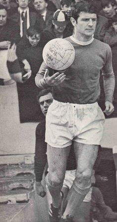 Brian Labone of Everton in Retro Football, Everton, 1960s, Hipster, Club, Hipsters