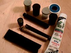 Homemade Mini-Mag Lite Fire Piston - This looks like a fun thing to do as a project with a group.  I wonder if the cheap knock-off minimaglite look-alikes would work too?