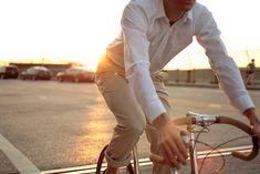 Trop chic pour le vélo.