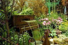 piano garden in Philadelphia, PA