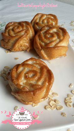 Rose di pane Dukan all'avena, semplice e buonissimo! Ricco di proteine e fibre ma a basso contenuto di carboidrati! Facile da realizzare e buono!
