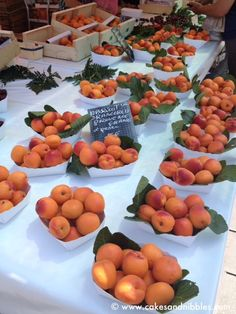 C & N Travel (2012): Nice, France - Apricots from the Cours Saleya market