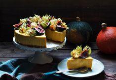 #tort #dyniowy #Pumpkin #cheesecake without baking #śmietankowiec dyniowy