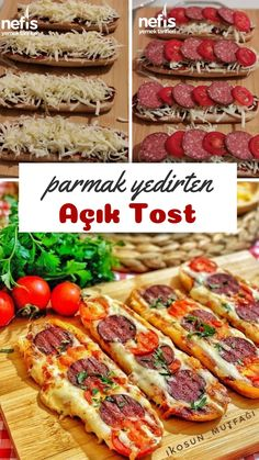 Open-Toast mit Fingerfütterung - köstliche Rezepte - Famous Last Words Lunch Recipes, Breakfast Recipes, Cooking Recipes, Perfect Breakfast, Iftar, Turkish Recipes, Best Appetizers, Empanadas, Food And Drink