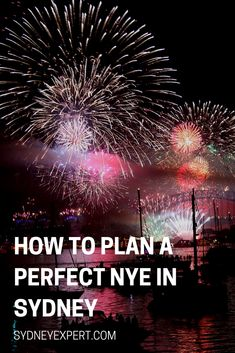 If you will be in Sydney for New Year's Eve then I suggest you check through this list of over 45 things to do on NYE and plan a great night at one of the world's biggest parties. #sydney #Australia #NYE