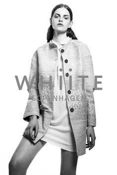 Photographer: Niklas Hoejlund www.niklashoejlund.com fashion photography black and white b/w female whiite campaign ss14