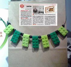 """Fotonuovi arrivi collana mattoncini """"Lego"""" collezione made in To."""